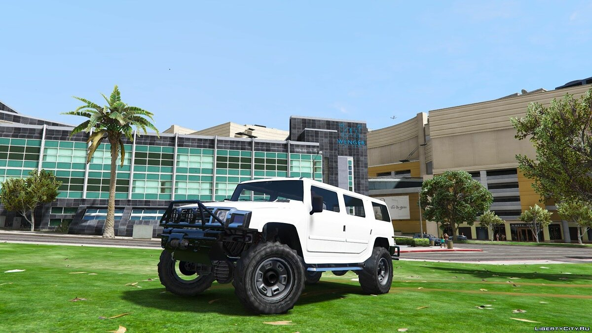 Lifted Patriot 1.0 для GTA 5