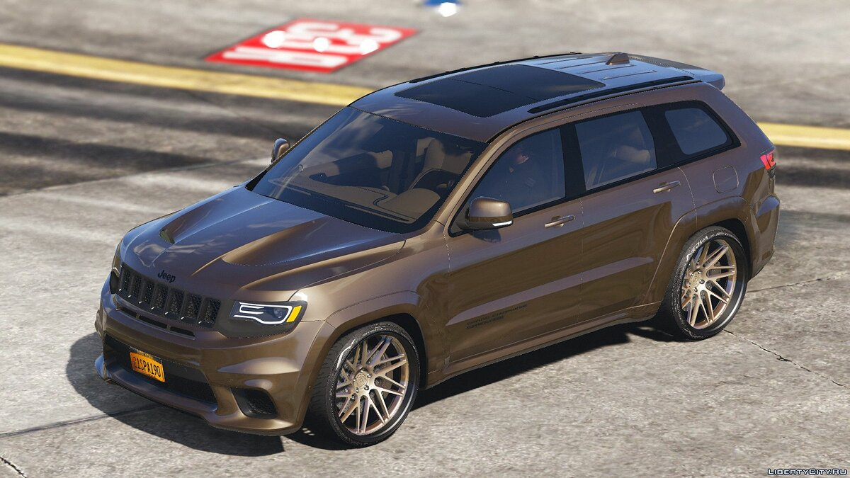 Машина Jeep TrackHawk Jeep Grand Cherokee SRT8 (replace rocoto) 0.1 для GTA 5