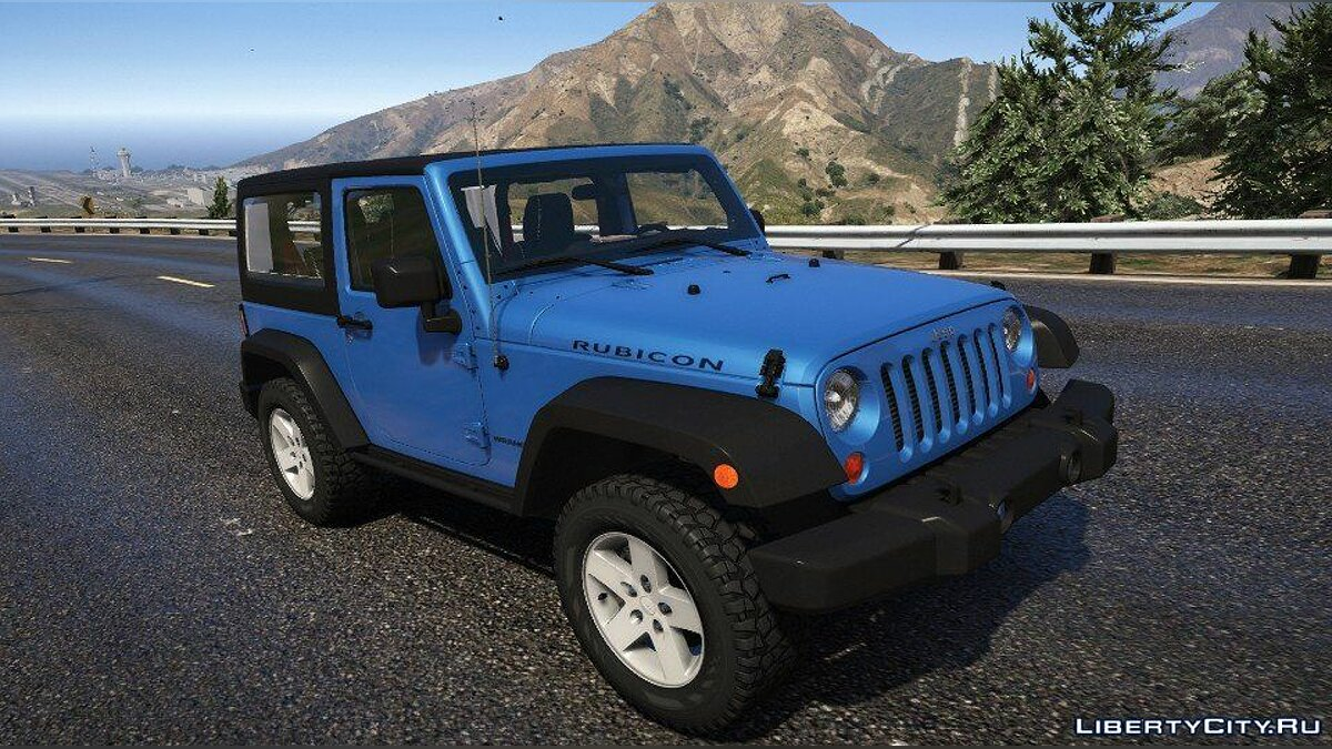 2012 jeep wrangler [Add-On] 1.0 для GTA 5