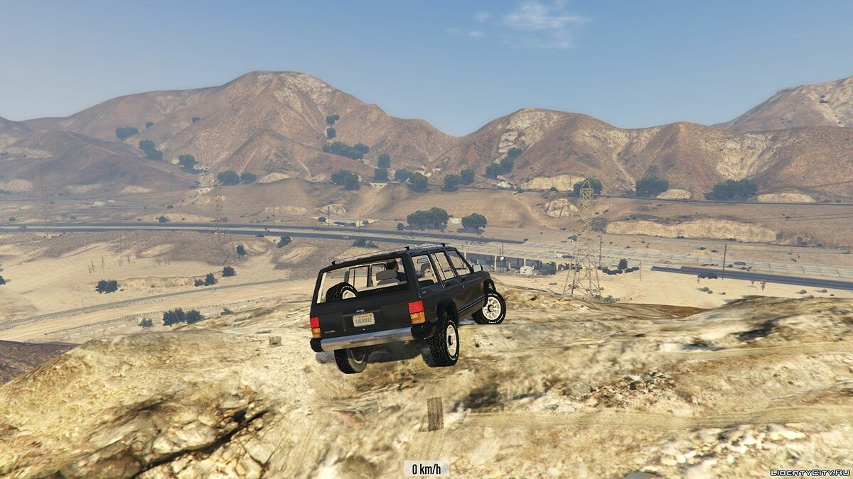 Машина Jeep Jeep Cherokee XJ (Replace) 1.2 для GTA 5