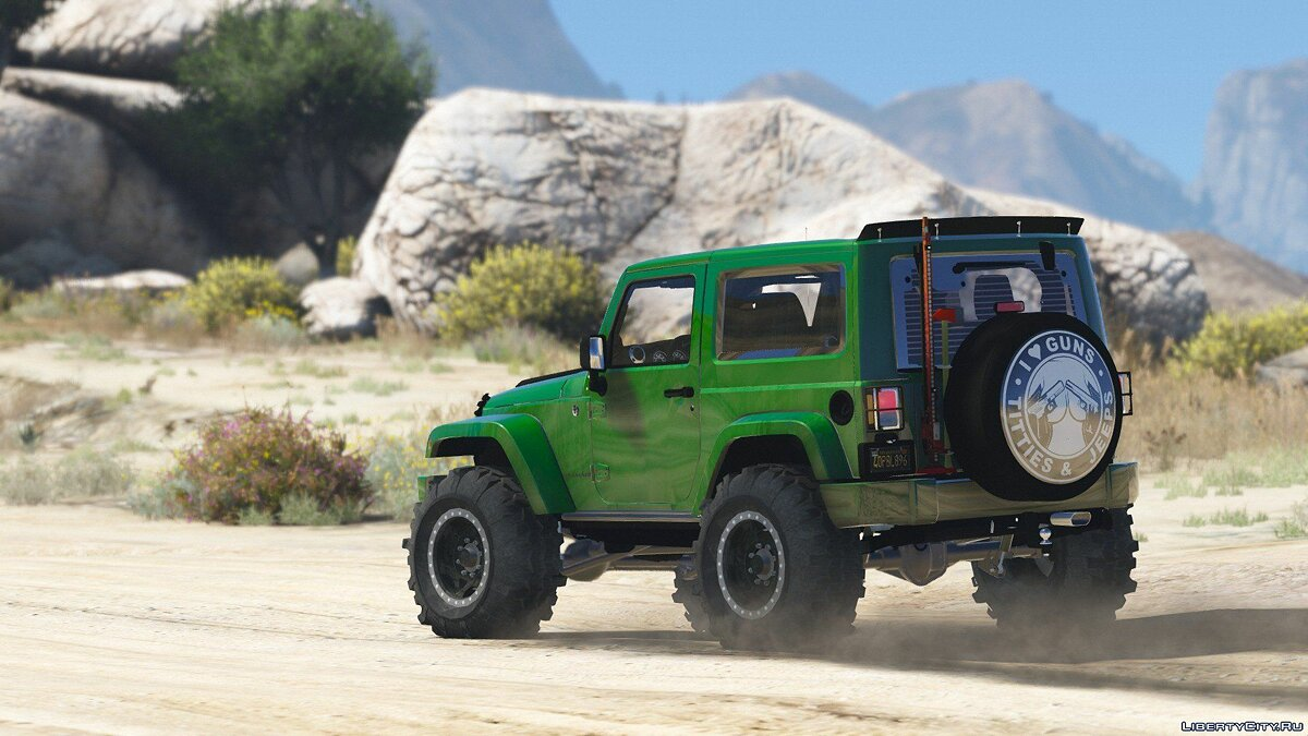 Jeep Wrangler Unlimited 3 Door JK 2013 [Add-On | Tuning] 1.0 для GTA 5