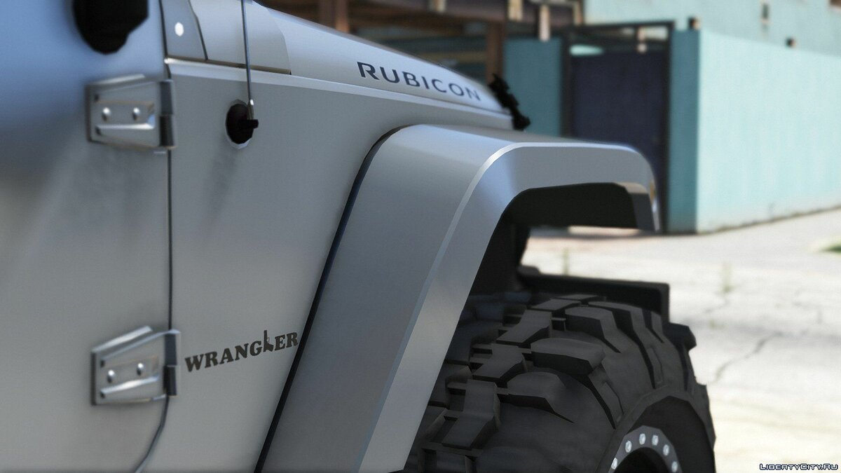 Jeep Wrangler Unlimited 3 Door JK 2013 [Add-On | Tuning] 1.0 для GTA 5 - скриншот #6