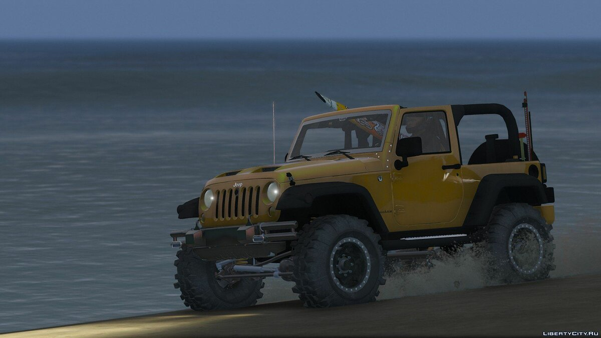 Jeep Wrangler Unlimited 3 Door JK 2013 [Add-On | Tuning] 1.0 для GTA 5 - скриншот #13