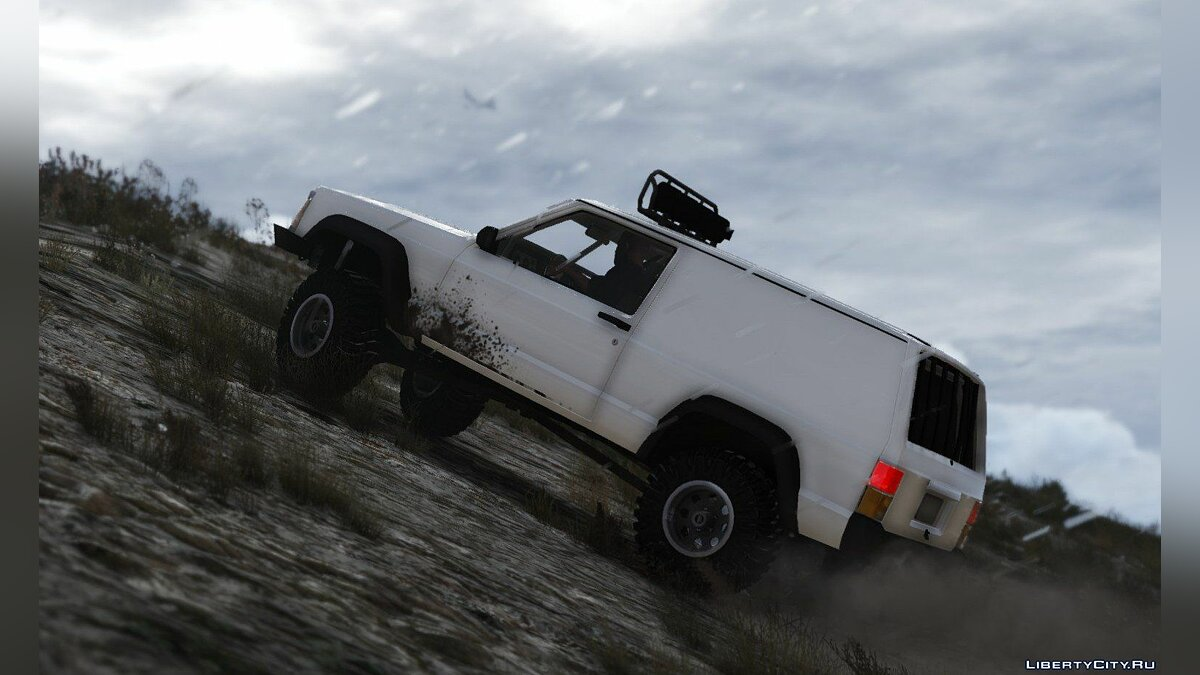 Jeep Cherokee Sport 1984 Off Road 4x4 [Add-On / Replace | Tuning | 10 Extras | Unlocked] 1.4 для GTA 5 - скриншот #3