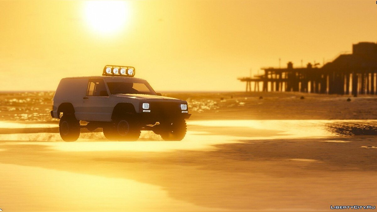 Jeep Cherokee Sport 1984 Off Road 4x4 [Add-On / Replace | Tuning | 10 Extras | Unlocked] 1.4 для GTA 5 - скриншот #6