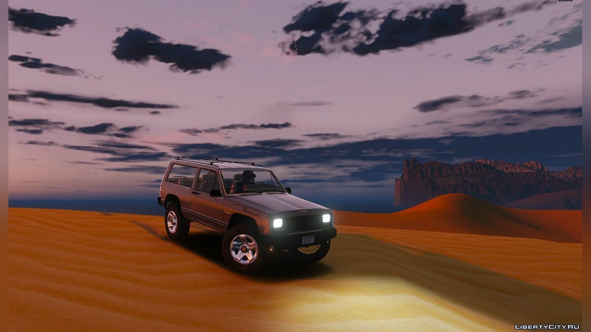Машина Jeep Jeep Cherokee 1998 Off Road 0.1 [BETA] для GTA 5