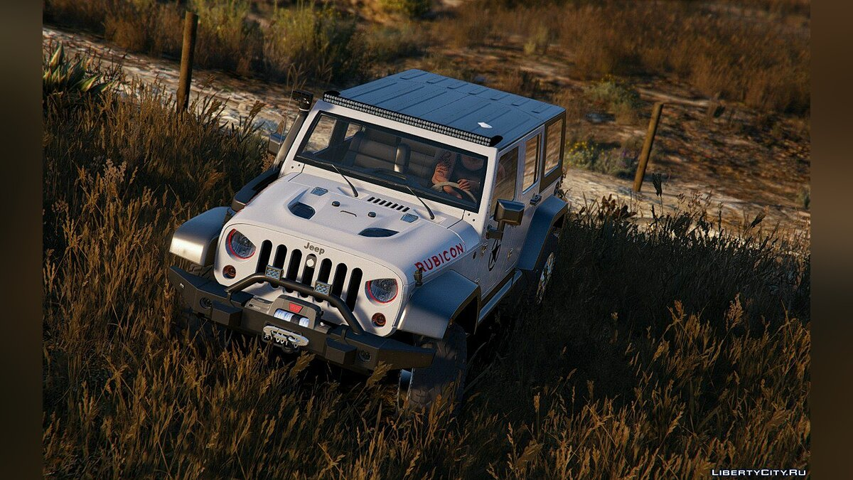 2014 Jeep Wrangler Rubicon [Add-On / Replace] 1.0 для GTA 5 - скриншот #5