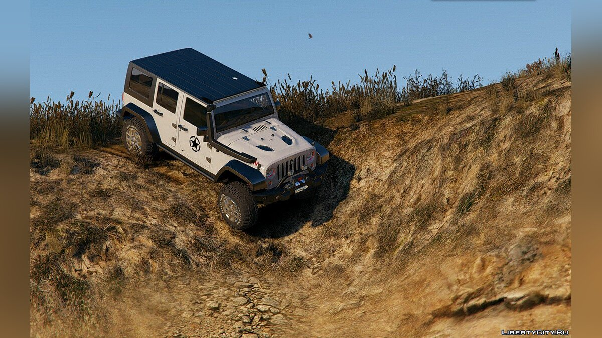 2014 Jeep Wrangler Rubicon [Add-On / Replace] 1.0 для GTA 5 - скриншот #6