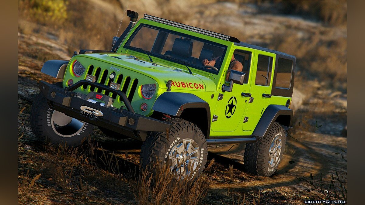 2014 Jeep Wrangler Rubicon [Add-On / Replace] 1.0 для GTA 5 - скриншот #7