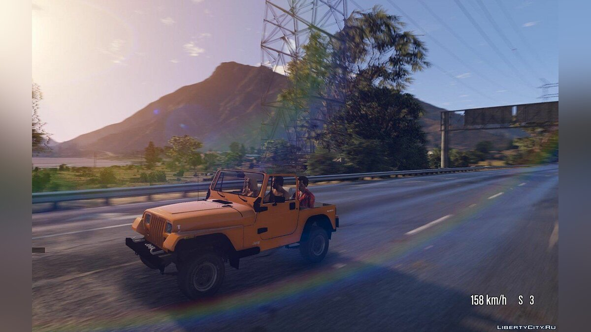 Jeep Wrangler 1986 [Add-On / Replace | 7 Extras] 1.2 для GTA 5 - скриншот #2