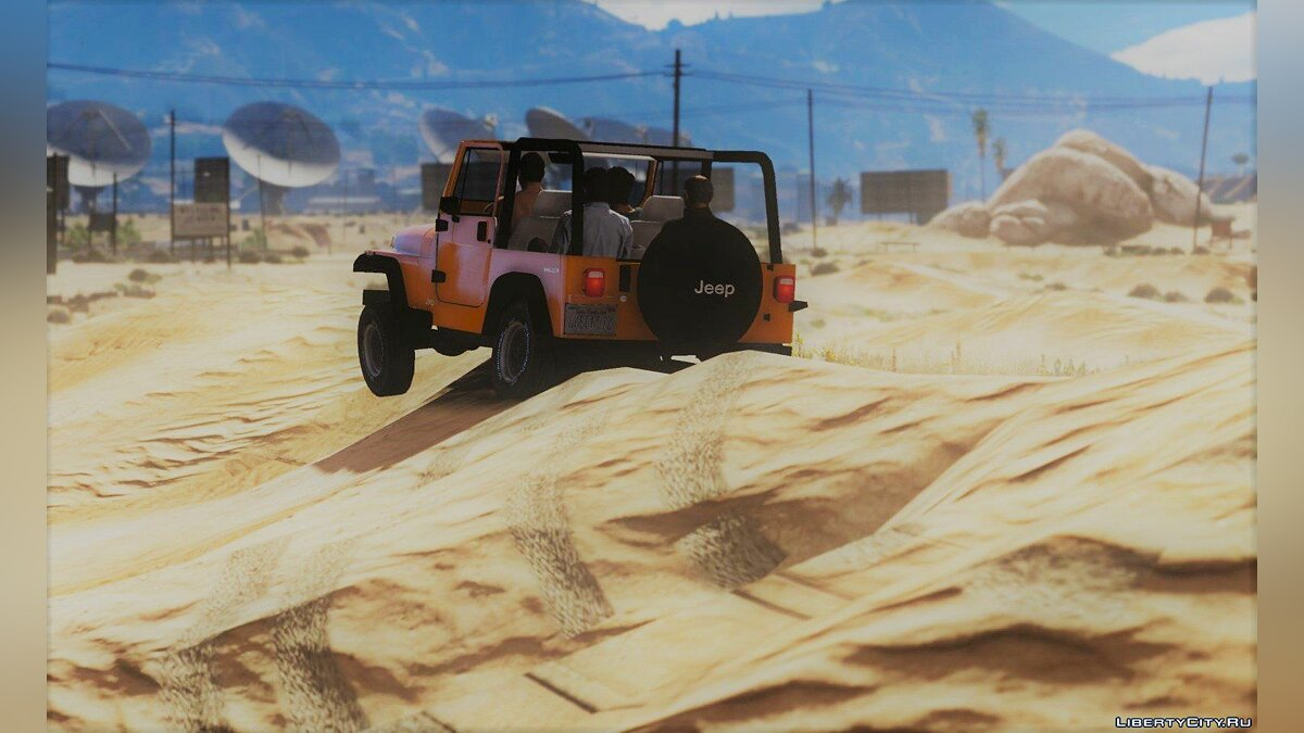 Jeep Wrangler 1986 [Add-On / Replace | 7 Extras] 1.2 для GTA 5 - скриншот #5