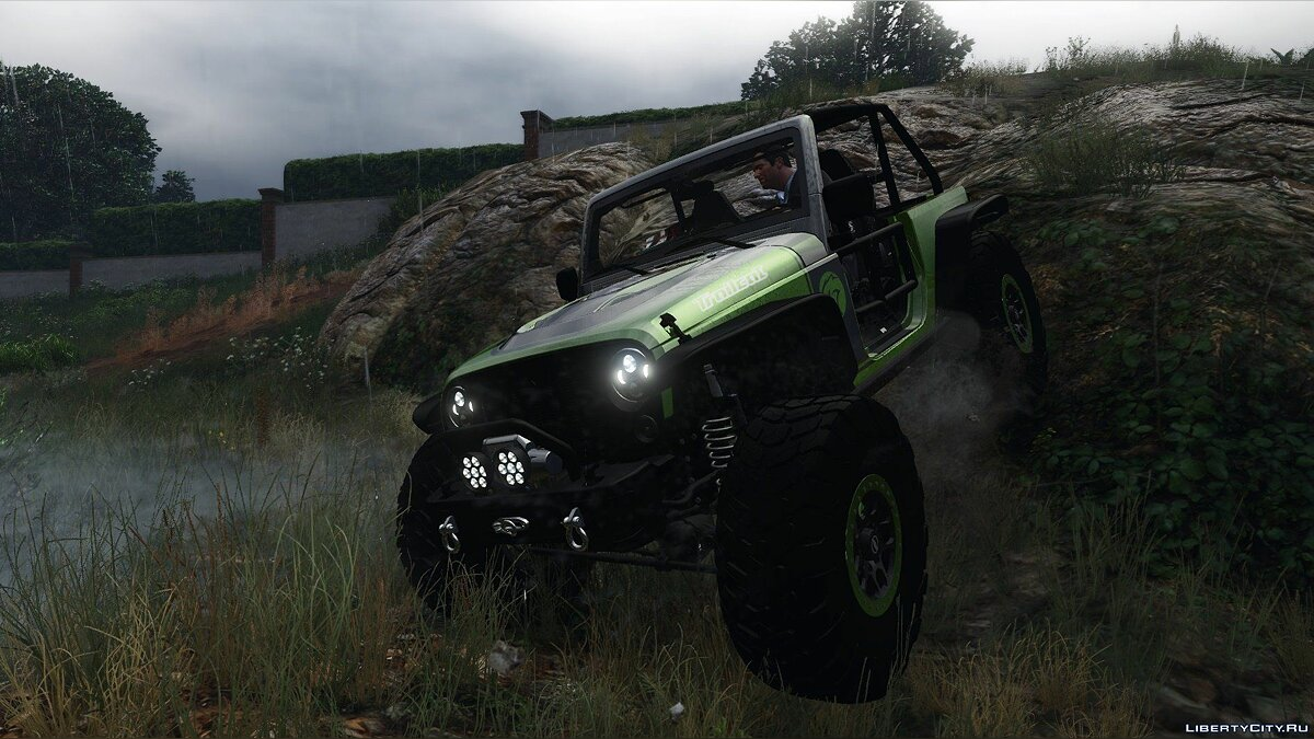 ��ашина Jeep Jeep Wrangler Trailcat Concept 2016 [Add-On / Replace | Template] 2.0 для GTA 5