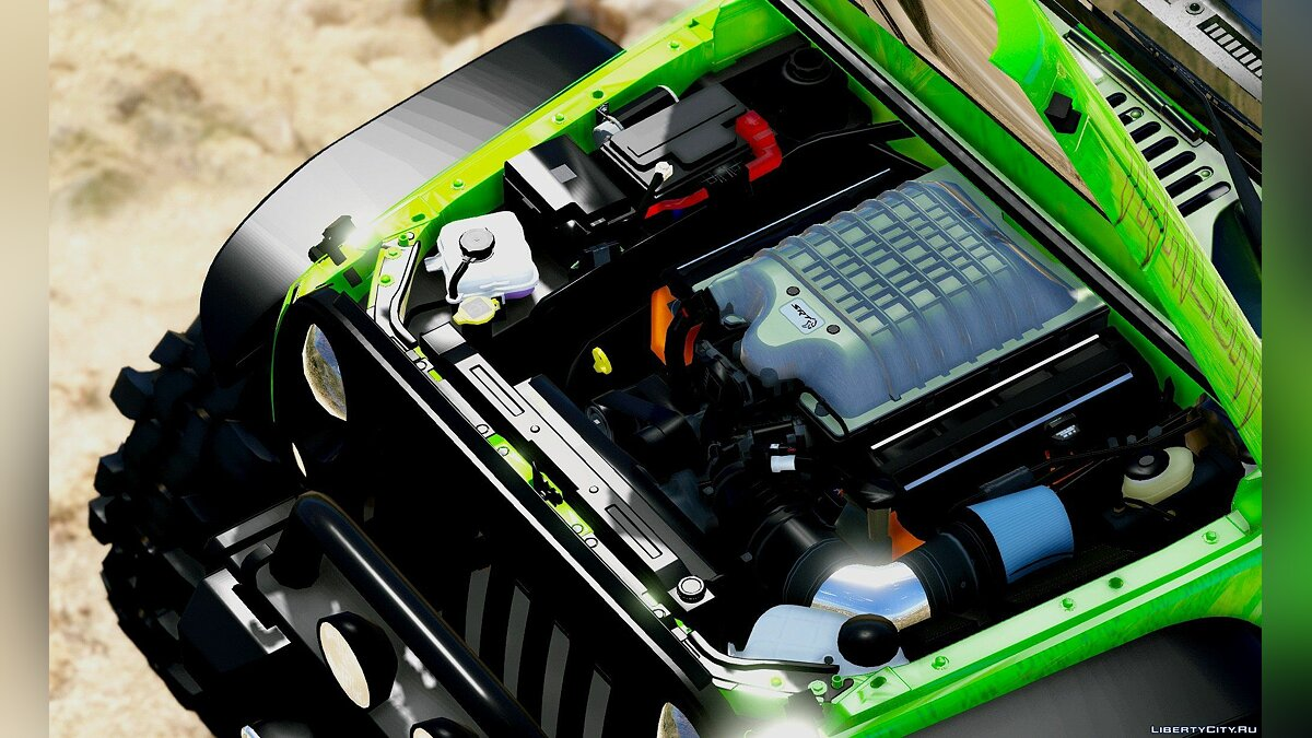 Jeep Wrangler Trailcat Concept 2016 [Add-On / Replace | Template] 1.1 для GTA 5 - скриншот #2