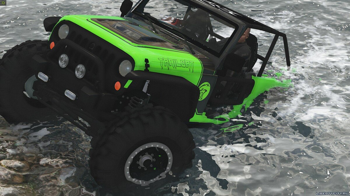 Jeep Wrangler Trailcat Concept 2016 [Add-On / Replace | Template] 1.1 для GTA 5