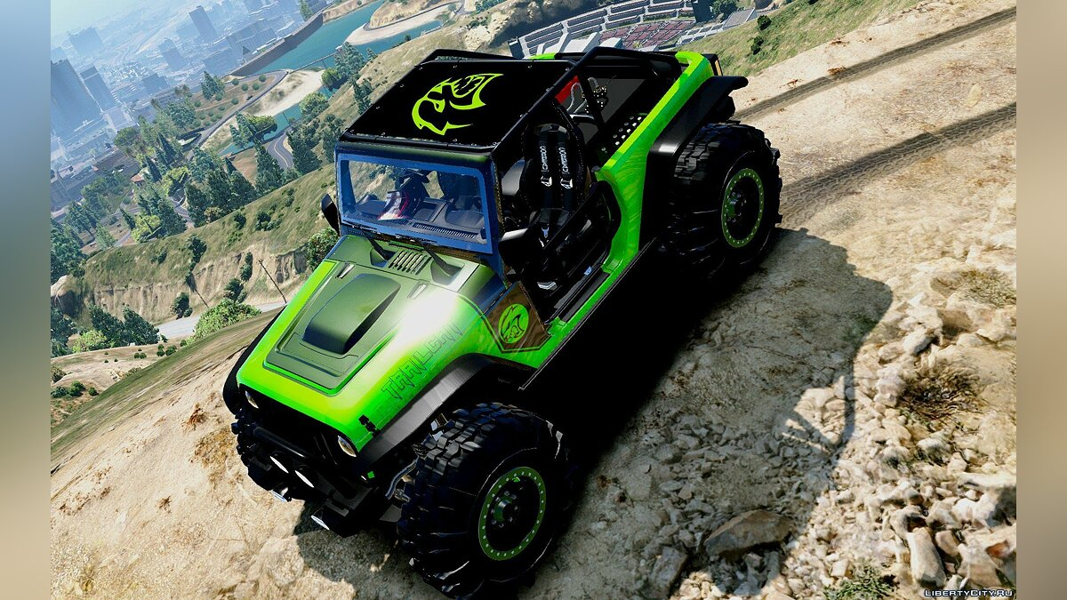 Jeep Wrangler Trailcat Concept 2016 [Add-On / Replace | Template] 1.1 для GTA 5 - скриншот #4