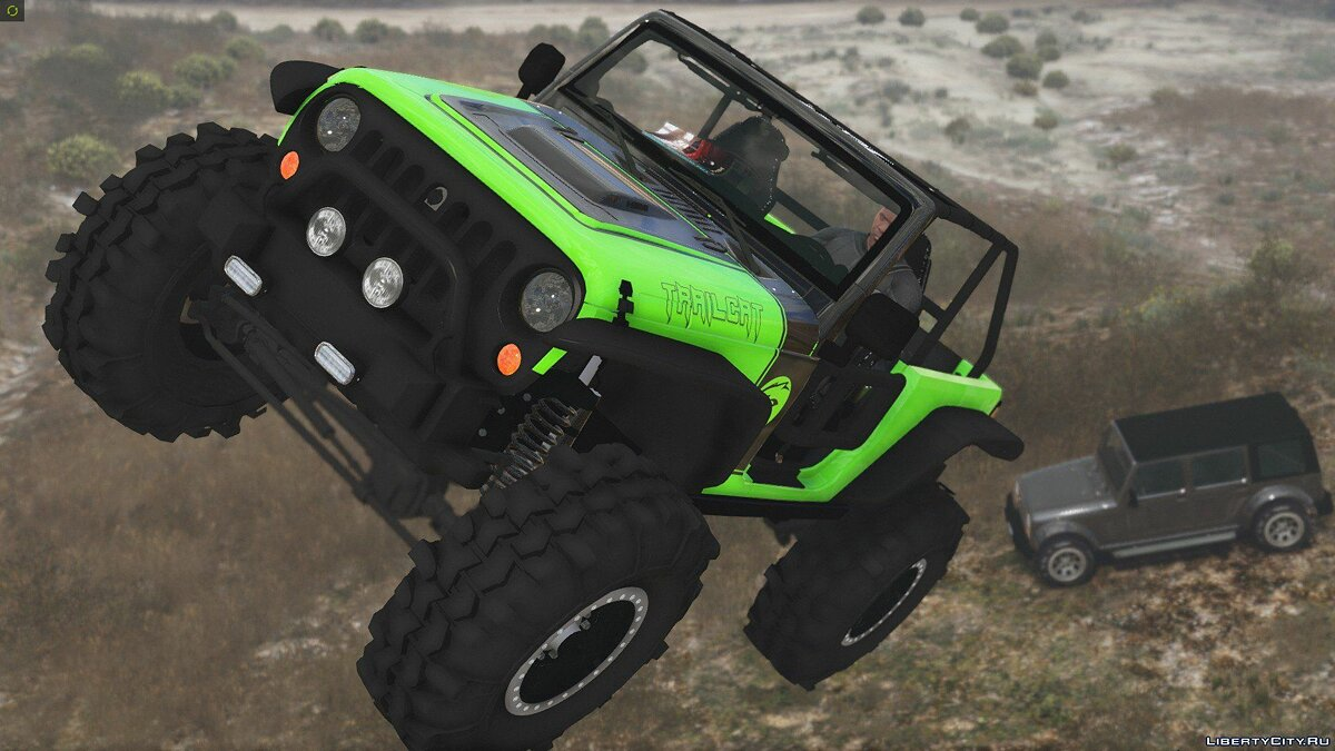Jeep Wrangler Trailcat Concept 2016 [Add-On / Replace | Template] 1.1 для GTA 5 - скриншот #7