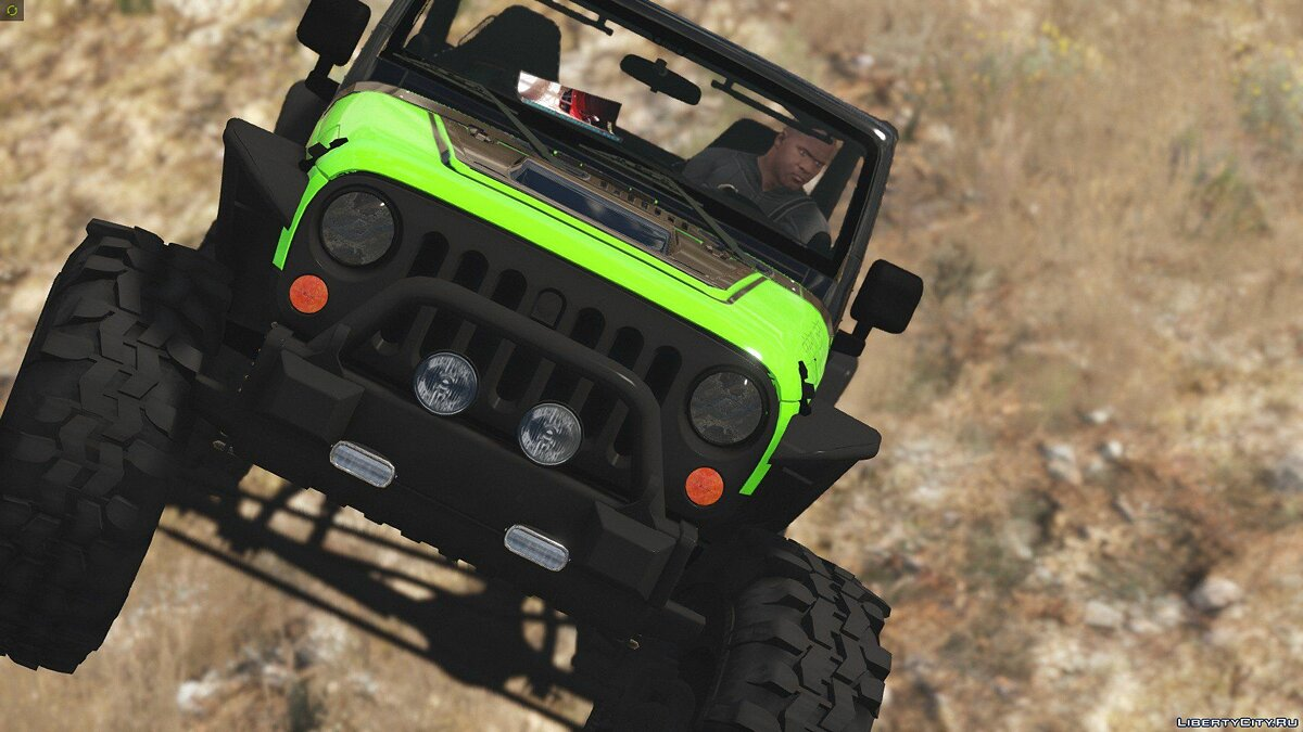 Jeep Wrangler Trailcat Concept 2016 [Add-On / Replace | Template] 1.1 для GTA 5 - скриншот #13