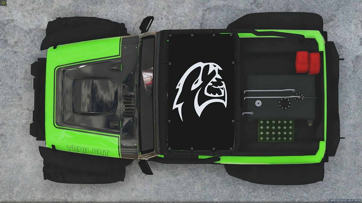 Jeep Wrangler Trailcat Concept 2016 [Add-On / Replace | Template] 1.1 для GTA 5 - скриншот #11