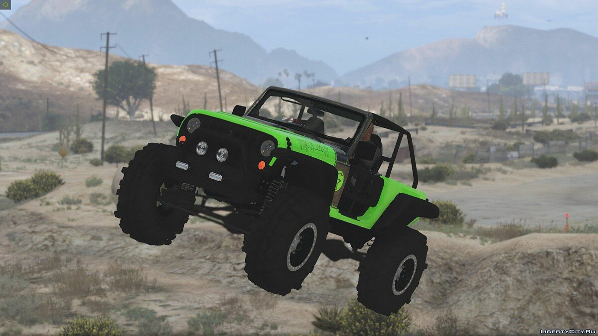 Jeep Wrangler Trailcat Concept 2016 [Add-On / Replace | Template] 1.1 для GTA 5 - скриншот #16