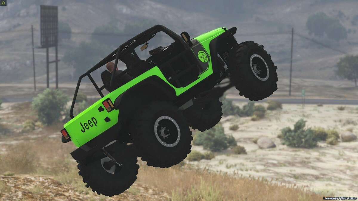 Jeep Wrangler Trailcat Concept 2016 [Add-On / Replace | Template] 1.1 для GTA 5 - скриншот #14