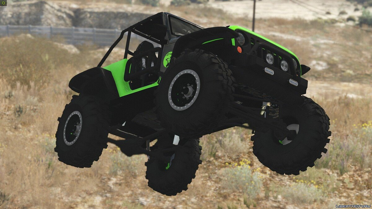 Jeep Wrangler Trailcat Concept 2016 [Add-On / Replace | Template] 1.1 для GTA 5 - скриншот #15