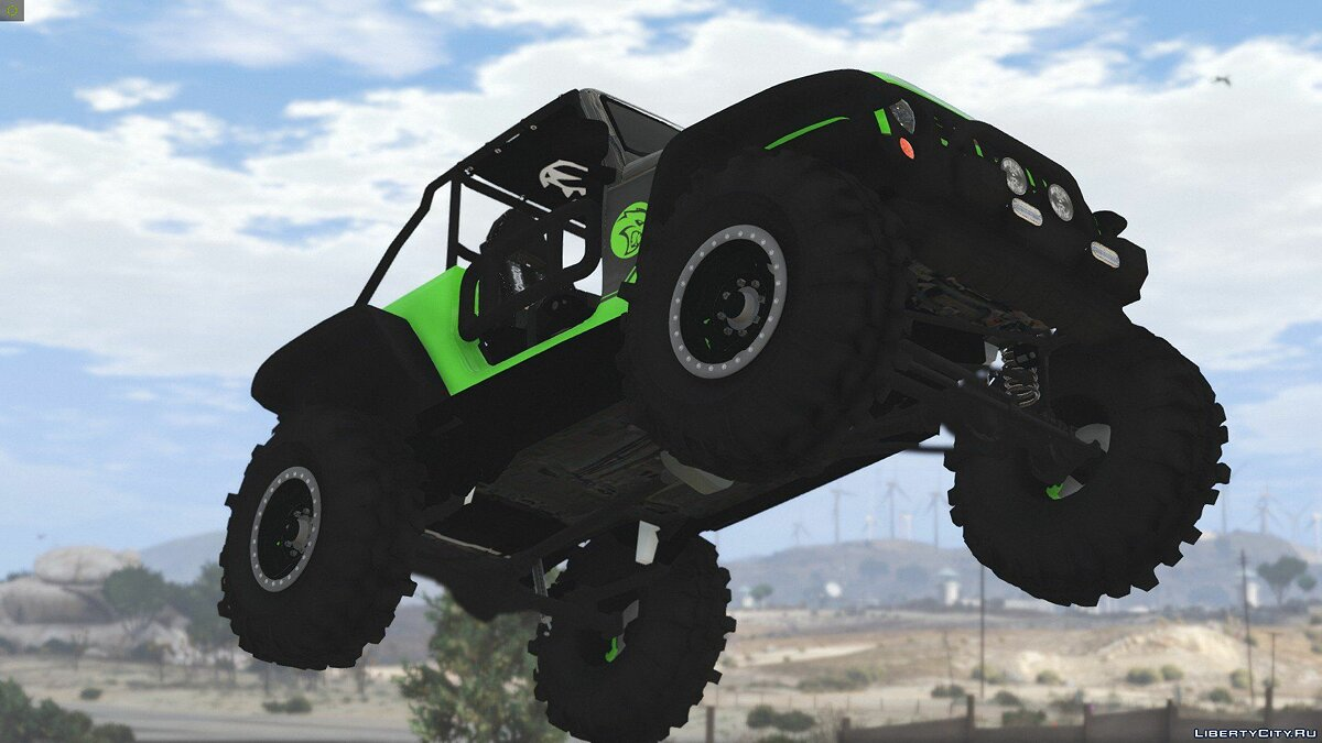 Jeep Wrangler Trailcat Concept 2016 [Add-On / Replace | Template] 1.1 для GTA 5 - скриншот #12