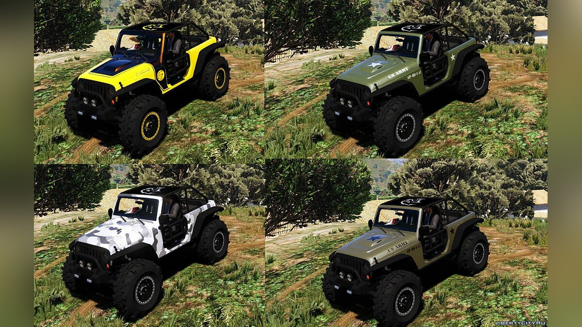 Jeep Wrangler Trailcat Concept 2016 [Add-On / Replace | Template] 1.2 для GTA 5 - скриншот #3