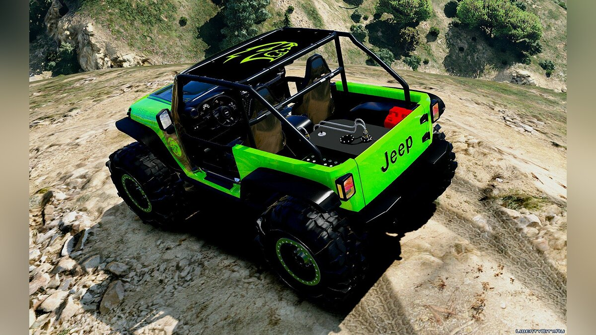 Jeep Wrangler Trailcat Concept 2016 [Add-On / Replace | Template] 1.2 для GTA 5 - скриншот #5