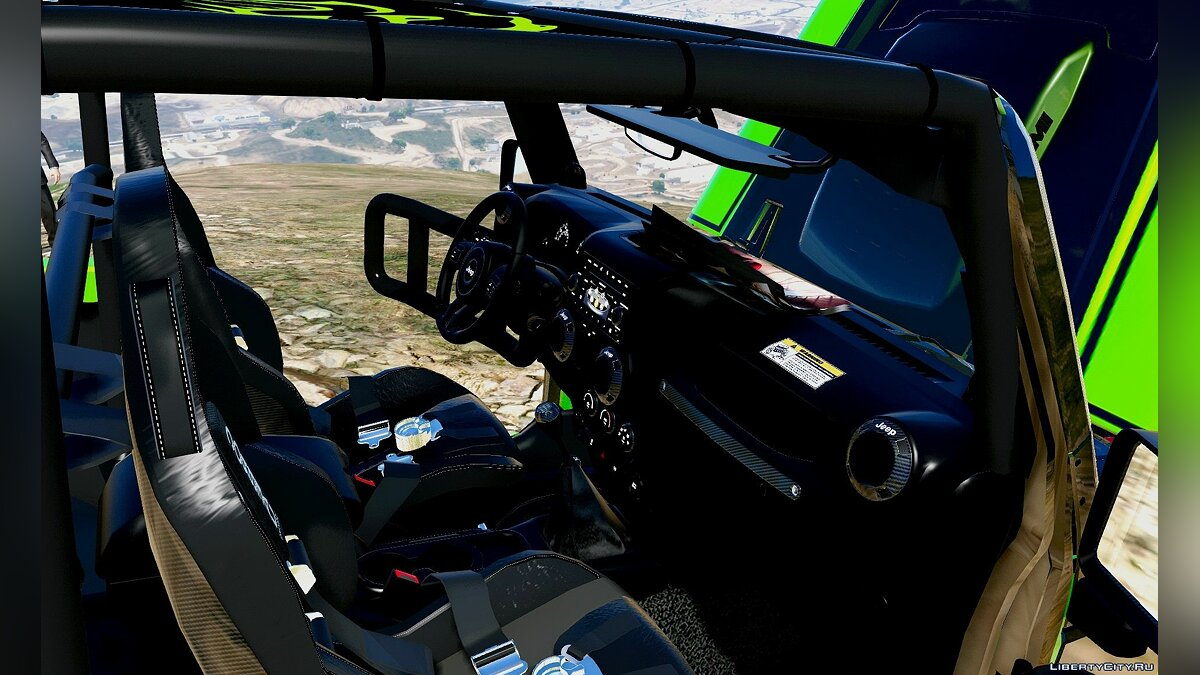 Jeep Wrangler Trailcat Concept 2016 [Add-On / Replace] 1.0 для GTA 5 - скриншот #5