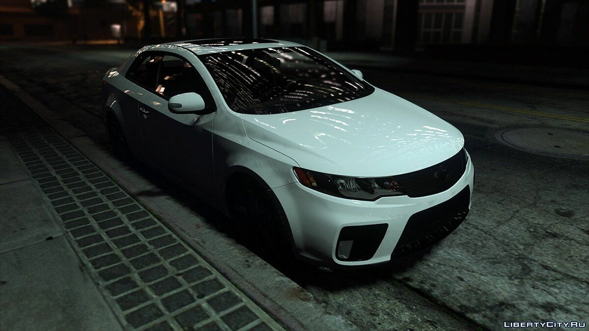 Машина Kia 2010 KIA Forte Koup SX [Add-On | Tuning] 2.0 для GTA 5