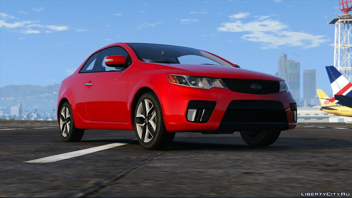 Машина Kia 2010 KIA Forte Koup SX [Add-On | Tuning] 2.3 для GTA 5