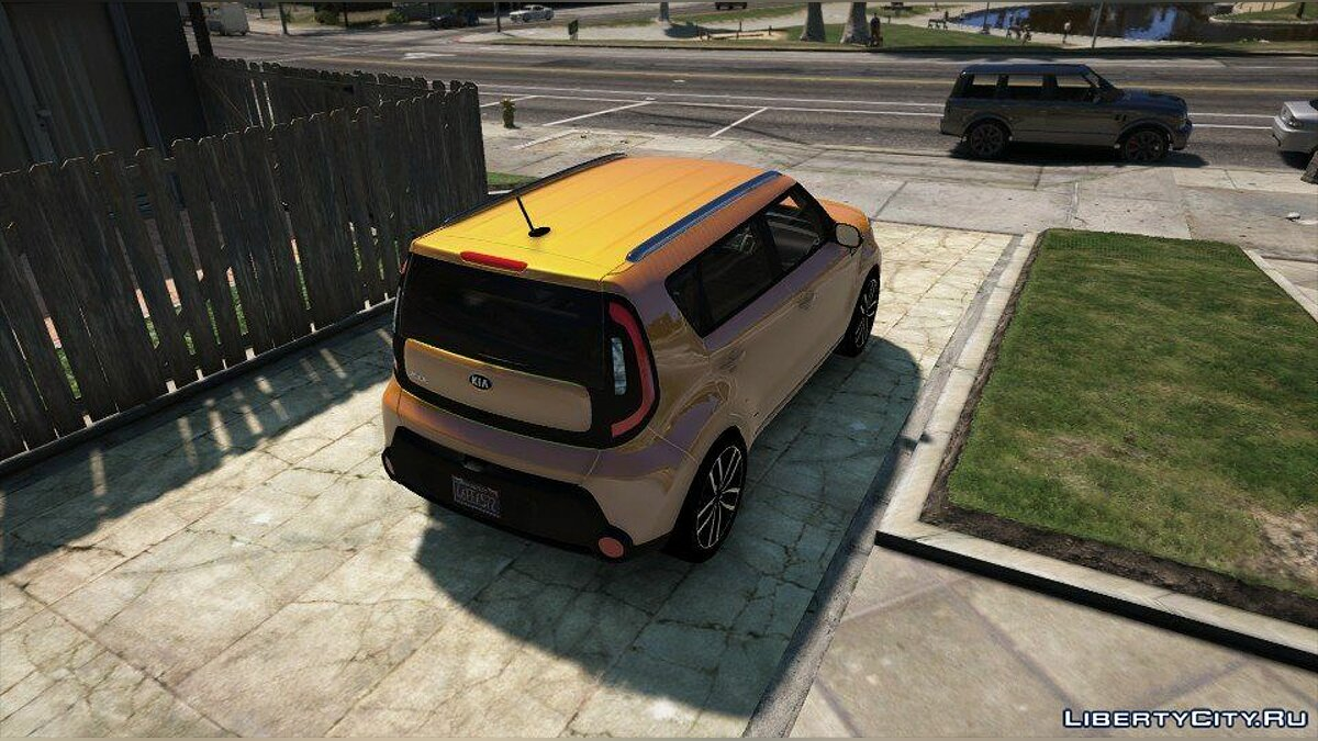 Kia Soul (Add-onReplace) 1.0 для GTA 5 - скриншот #4