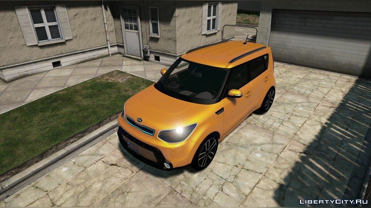 Kia Soul (Add-onReplace) 1.0 для GTA 5