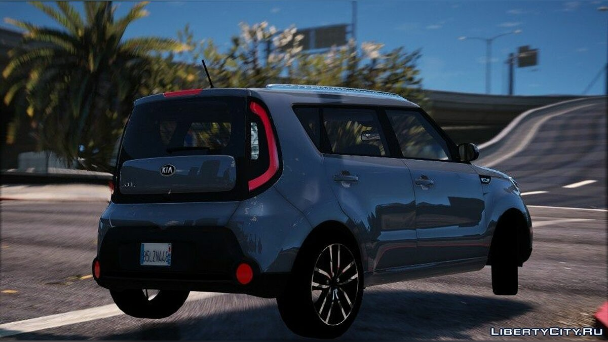 Машина Kia Kia Soul [Add-on] 1.1 для GTA 5