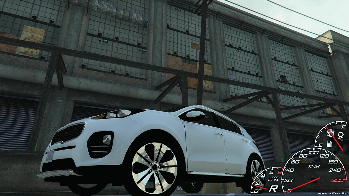 2017 Kia Sportage [Add-On / Replace] 1.2 для GTA 5
