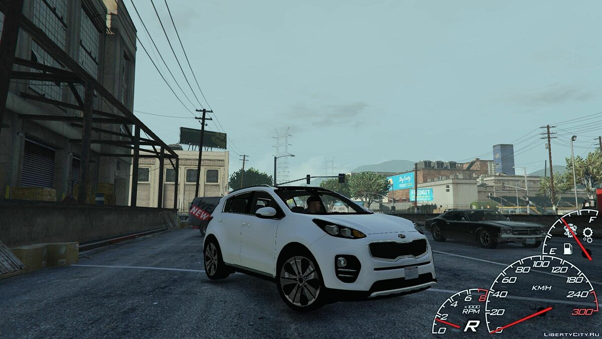2017 Kia Sportage [Add-On / Replace] 1.2 для GTA 5 - скриншот #3