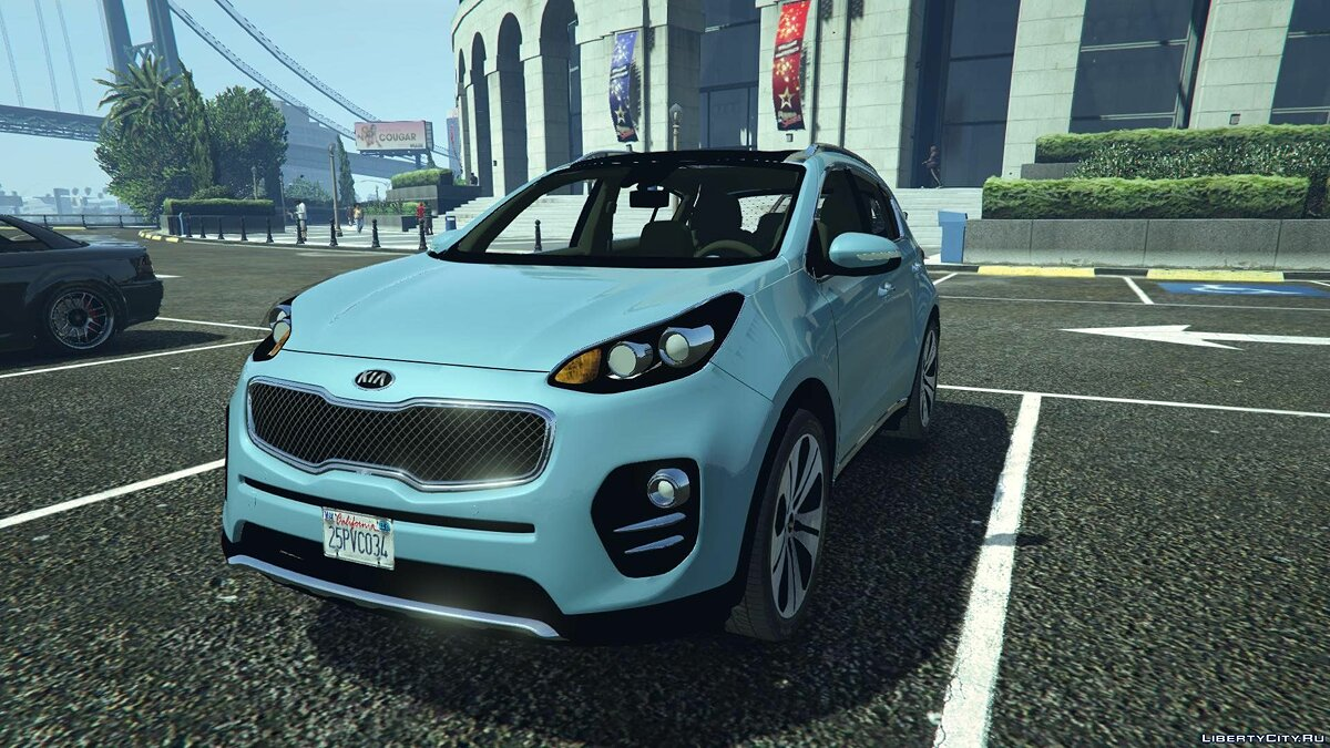 2017 Kia Sportage [Add-On / Replace] 1.8 для GTA 5