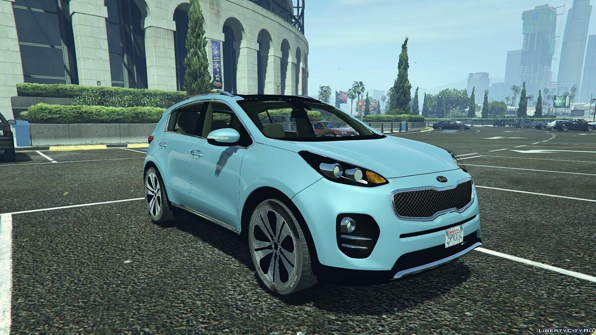 2017 Kia Sportage [Add-On / Replace] 1.8 для GTA 5 - скриншот #4