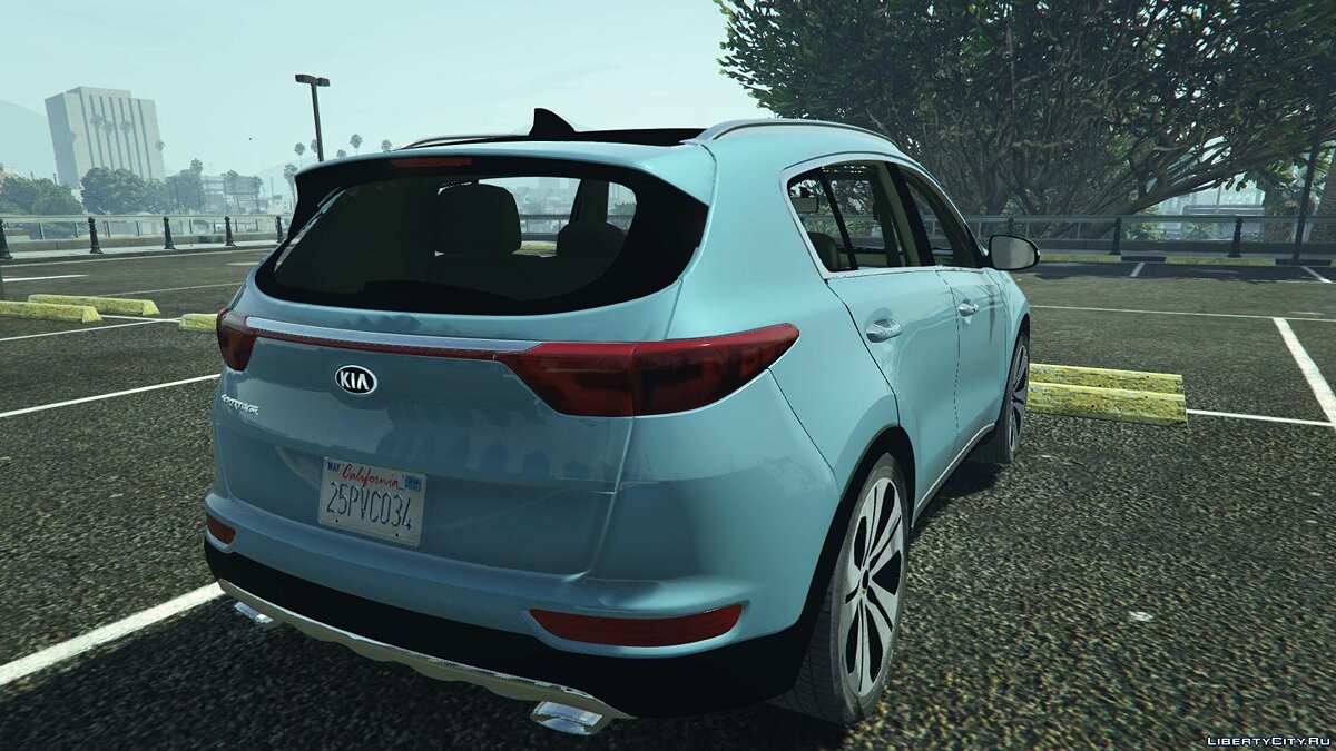 2017 Kia Sportage [Add-On / Replace] 1.8 для GTA 5 - скриншот #5