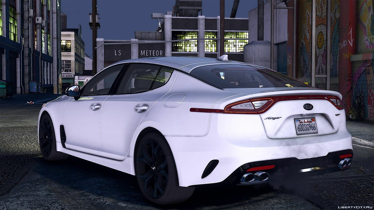 Машина Kia 2018 Kia Stinger GT [Add-On (OIV) /Replace /Analog-Digital Dials /Animated /Template] 1.0 для GTA 5
