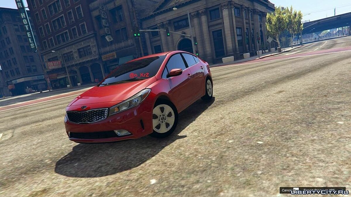 2017 Kia Cerato [Replace] 1.0 для GTA 5 - скриншот #2