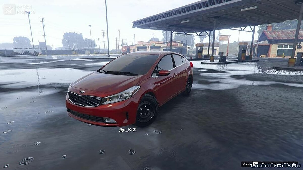 2017 Kia Cerato [Replace] 1.0 для GTA 5 - скриншот #4