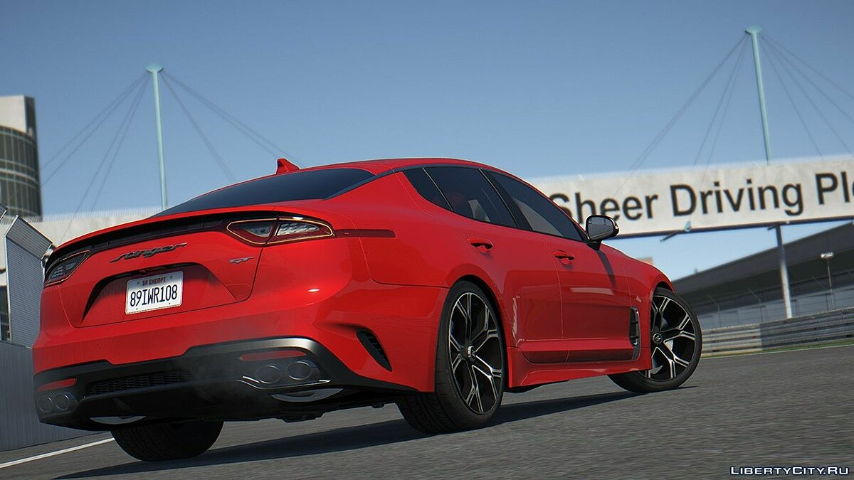 Машина Kia KIA Stinger 3.3 GT 2017 [Add-On | Tuning | Template] 2.0 для GTA 5