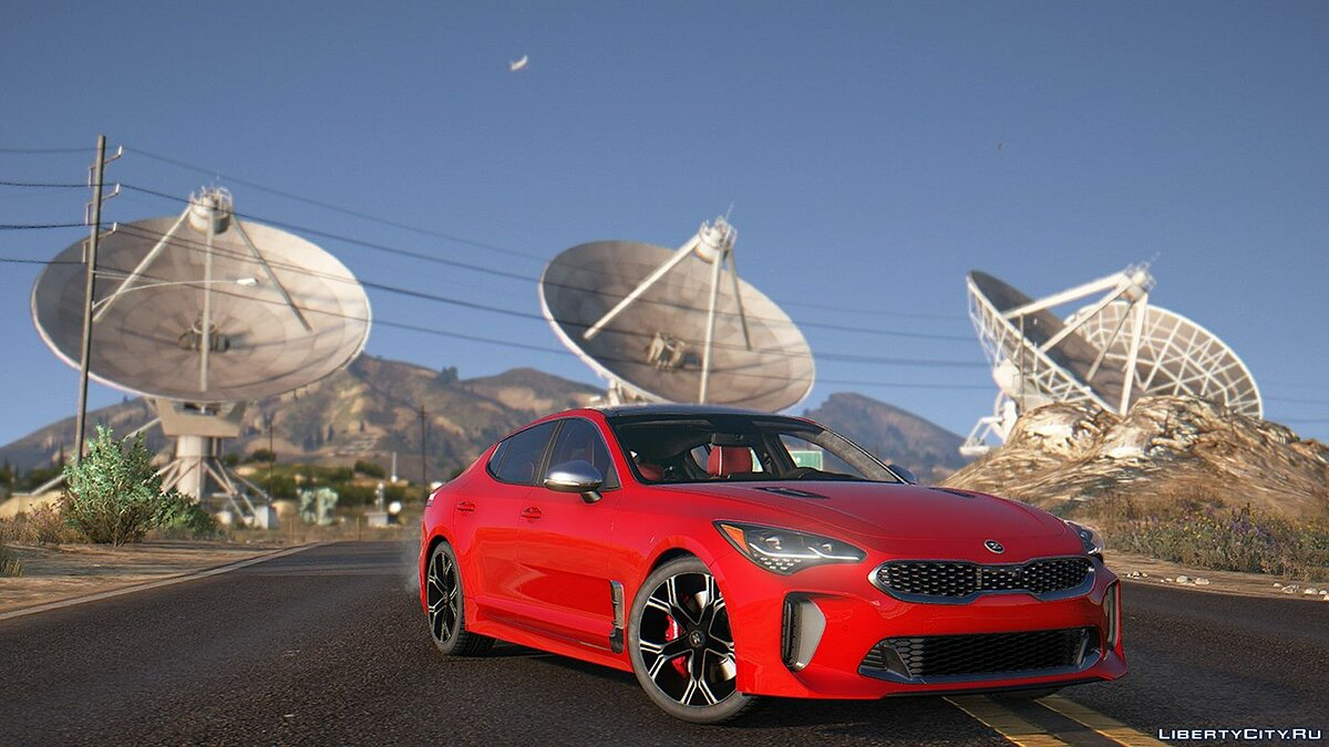 Машина Kia KIA Stinger 3.3 GT 2017 [Add-On] 1.0 для GTA 5