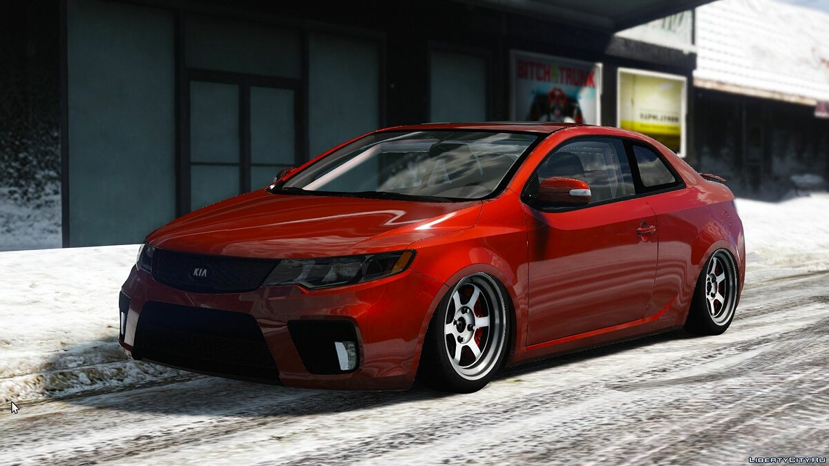 Машина Kia Kia Forte Koup [Add-On | Tuning] 1.0 для GTA 5