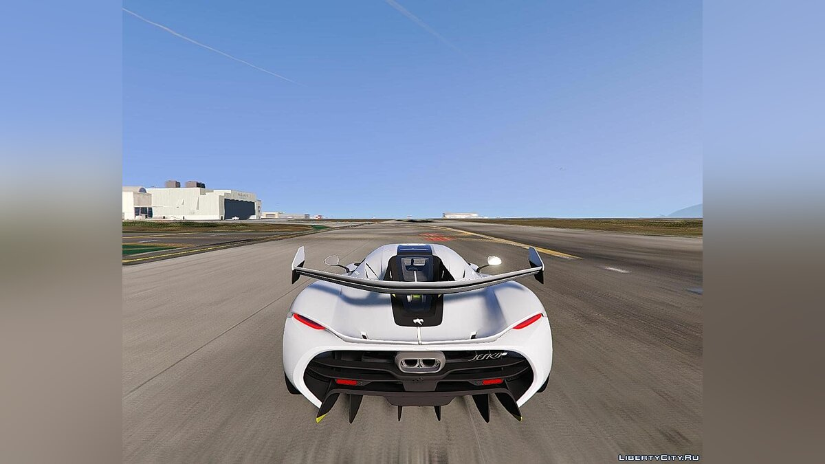 Машина Koenigsegg 2020 Koenigsegg Jesko [Add-On] 1.1 для GTA 5