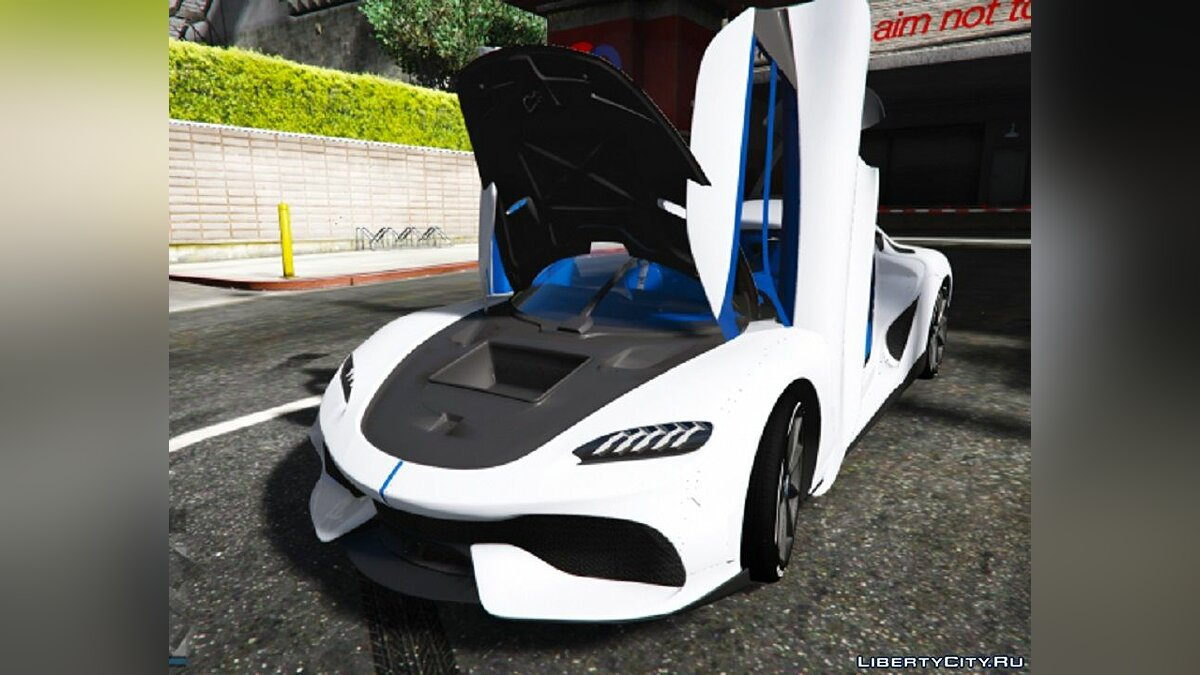 Машина Koenigsegg Koenigsegg Gemera [Add-On / FiveM] 1.0 для GTA 5