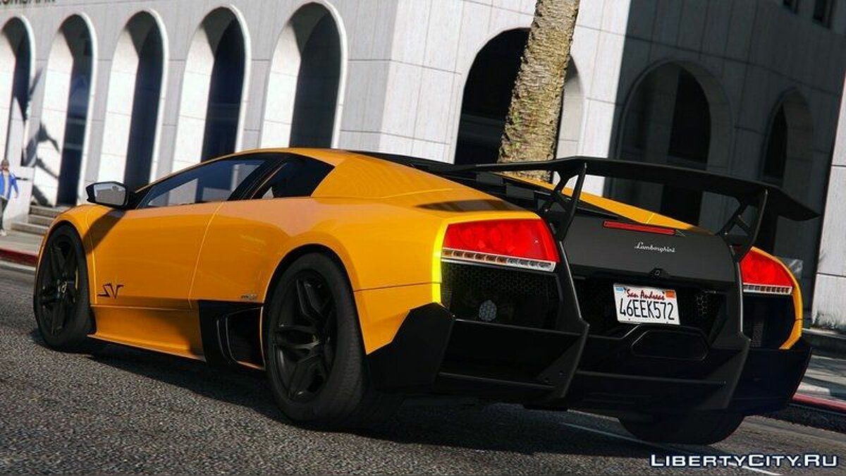 Lamborghini Murcielago LP 670-4 SuperVeloce [Add-On] для GTA 5