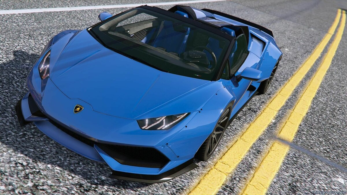 Lamborghini Huracan Spyder & Veneno Roadster [Add-On] для GTA 5 - скриншот #5