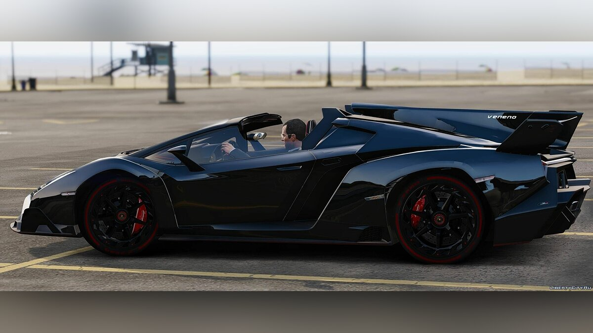 Lamborghini Huracan Spyder & Veneno Roadster [Add-On] для GTA 5 - скриншот #12
